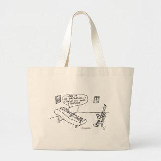 Reed Psychologist Large Tote Bag