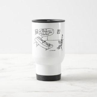 Reed Psychologist White Travel Mug