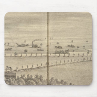 Reed residence, Knights Landing Mouse Pad
