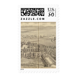 Reed residence, Knights Landing Postage