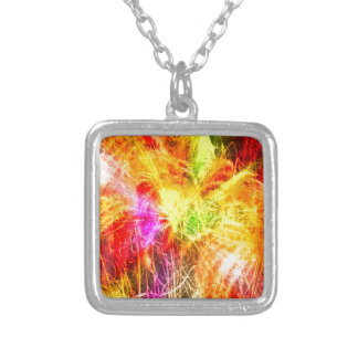 reed silver plated necklace