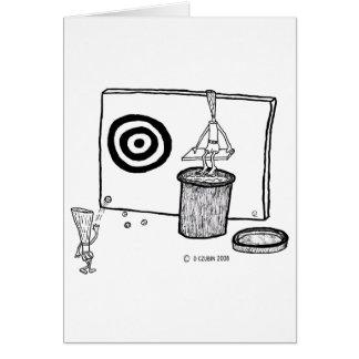 Reed Target Greeting Card