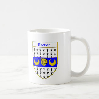 Reeder Coat of Arms/Family Crest Mugs