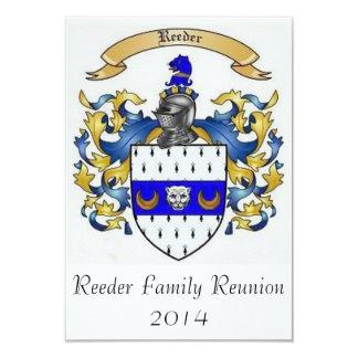 Reeder Family Reunion 2014 Custom Invitations