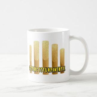 Reeding Is Fundamental Classic White Coffee Mug