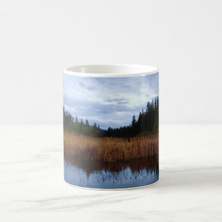 Reeds at the Fishing Hole Coffee Mug