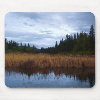 Reeds at the Fishing Hole Mouse Pad