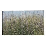 Reeds grass and water iPad folio covers