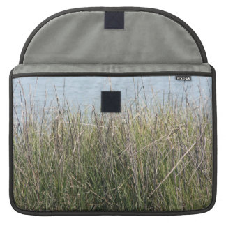 Reeds grass and water sleeves for MacBook pro