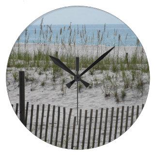 Reeds on the Beach Wallclock