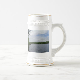 Reeds on the waterfront mugs