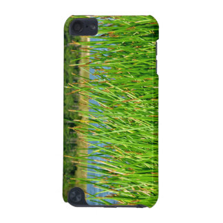 Reeds trees pond background iPod touch (5th generation) case