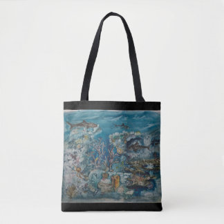 Reef All-Over-Print Tote Bag
