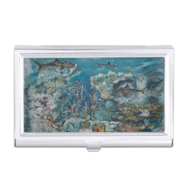 Professional Business Reef Business Card Holder