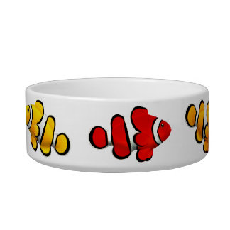 Reef Clownfish Cat Food Bowl