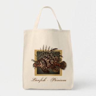 Reef coral fish fishing gifts for men tote bag