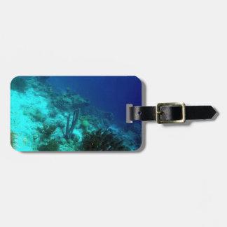 Reef Edge Custom Luggage Tag