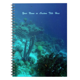 Reef Edge Personalized Notebook
