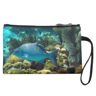 Reef Fish Wristlet Clutch