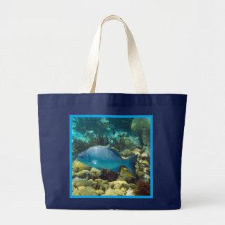 Reef Fish Tote Bags