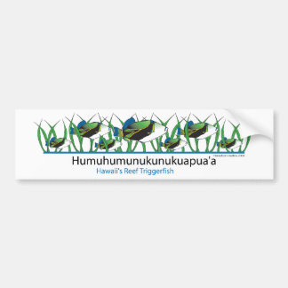Reef-Fish- Bumper Sticker