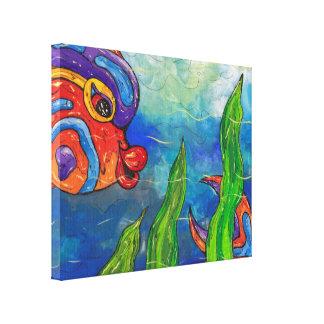 Reef Fish Canvas Print
