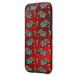 Reef Fish Frenzy Tough iPhone 6 Case