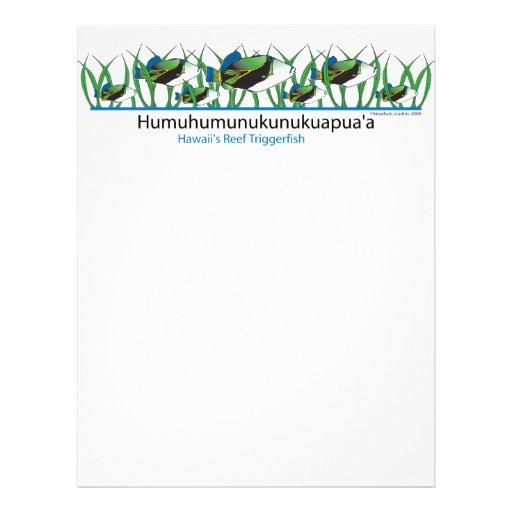 Reef-Fish- Letterhead Template