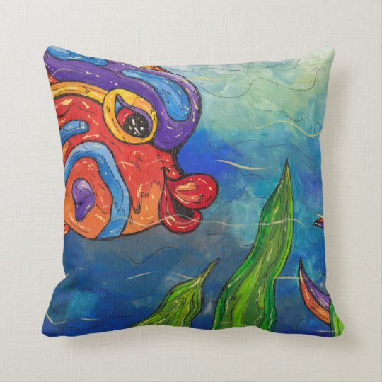 Reef Fish Pillow