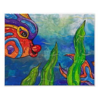 Reef Fish Print