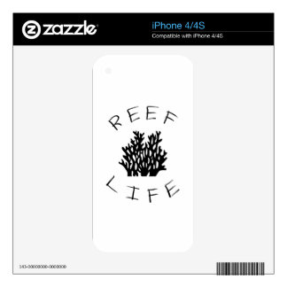 Reef Life iPhone 4 Decal