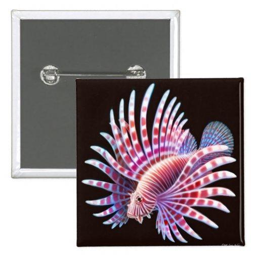 Reef Lionfish Pin