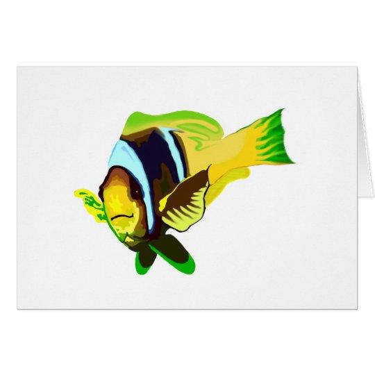 Reef Marine Life: Clark's Anemonefish Card
