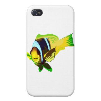 Reef Marine Life: Clark's Anemonefish iPhone 4 Case