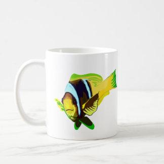 Reef Marine Life: Clark's Anemonefish Classic White Coffee Mug