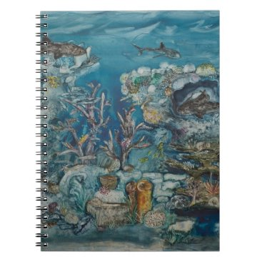 Professional Business Reef Notebook (80 Pages B&W)