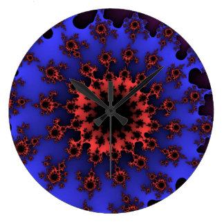 Reef Octopus Eye Large Round Wall Clock