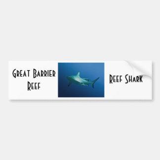Reef Shark Great Barrier Reef Coral Sea Bumper Sticker