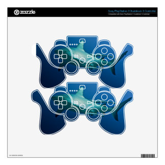 Reef Shark Great Barrier Reef Coral Sea PS3 Controller Skin