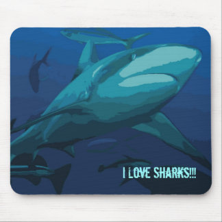 Reef Shark on the Great Barrier Reef Mouse Pad