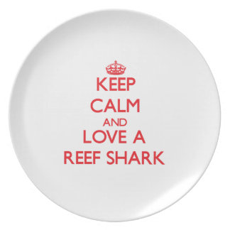 Reef Shark Party Plates