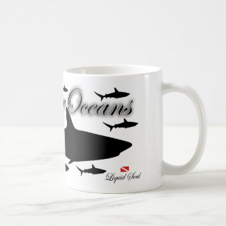 Reef Shark - Save Our Oceans Mugs