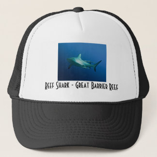Reef Sharks Great Barrier Reef Coral Sea Trucker Hat