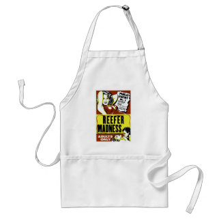 """""""Reefer Madness"""" Adult Apron"""