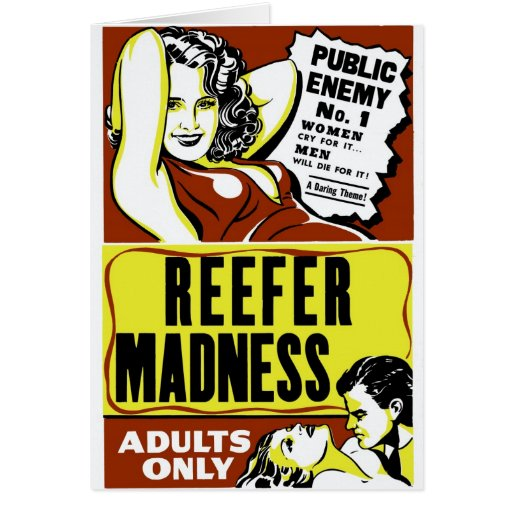 """Reefer Madness"" Card"