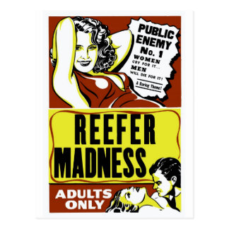 """Reefer Madness"" Post Cards"
