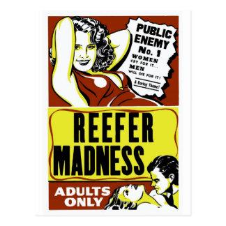 """Reefer Madness"" Postcard"