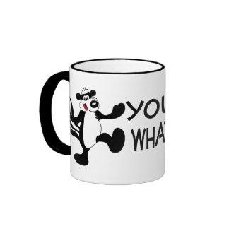 Reeking Skunk Ringer Coffee Mug