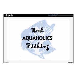 Reel Aquaholics Fishing Skin For Laptop