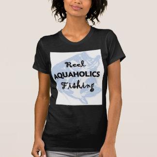 Reel Aquaholics Fishing Tee Shirt